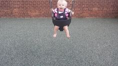 First time at the swingset - Best picture I've taken of my daughter so far. #daddy #love #family #dad #daughter #baby