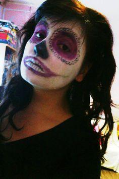 Sugar skull makeup :) :D