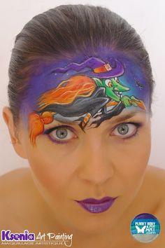Ksenia Dudkina || witch Halloween design