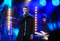 Sam Smith @MTV Brand New with Clay Paky B-EYE
