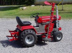 Elegant Congratulations To IamSherwood For Winning Juneu0027s Featured Garden Tractor  Of The Month With His 1972 Massey Ferguson Garden Tractor With A Haban  Sickle Bar ... Nice Ideas