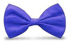 GolfKnickers: Men's Par 4 Cotton/Linen Bowtie - Royal.  Buy it @ ReadyGolf.com