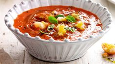 Tomato and Basil Soup | Recipes | Yours