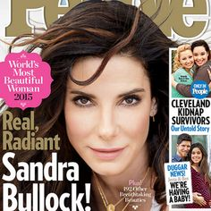 Sandra Bullock is an F'ing Fantastic Choice for PEOPLE's 2015 World's Most Beautiful Woman