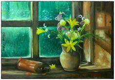 Maria Villioti - breaths of art: Still life Portrait Sketches, Art Sketches, Be Still, Still Life, Pin Up Girls, Drawings, Painting, Painting Art, Art Drawings