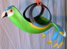 #parrot #upcycled #tyres   www.thewarrantyco.com