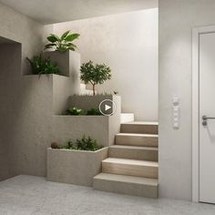 Amazing modern staircase designs, including open sided staircases, floating staircase designs, modern spiral staircases, plus bespoke spinals and banisters. Home Stairs Design, Modern House Design, Stair Design, Staircase Design Modern, Simple Home Design, Small House Design, Wall Design, Rustic Outdoor Decor, Stairs Architecture