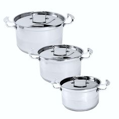 Eleranbe Stainless Steel Piece 6 Cookware Set Heavy Duty Dishwasher Safe * Visit the image link more details.