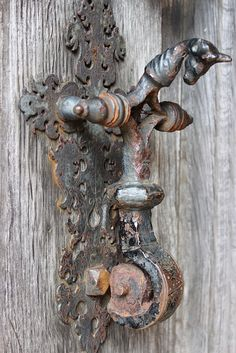 Witch Cottage: #Witch #Cottage ~ Door knocker on the south porch at Blickling Hall, Norfolk, by Rubens1577.