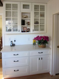 We Used The FAIRCREST White Shaker Cabinets And Drawers. They Transformed  Our Kitchen From Dark