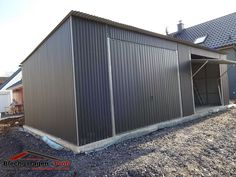 metall blech garagen on pinterest autos php and garage. Black Bedroom Furniture Sets. Home Design Ideas