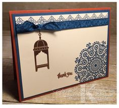 Moroccan Thank You by kkrab5 - Cards and Paper Crafts at Splitcoaststampers