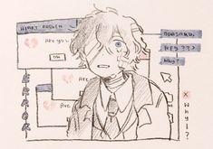 Tumblr Drawings, Anime Drawings Sketches, Dazai Bungou Stray Dogs, Stray Dogs Anime, Bungou Stray Dogs Characters, Dazai Osamu, Anatomy Art, Animes Wallpapers, Drawing Reference