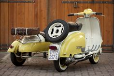 CAFÉ RACER 76: 1958 Lambretta TV 175