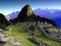 Machu Picchu, Peru - that's got to be on the list..