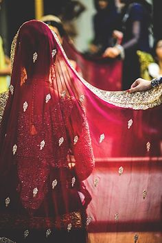 Once in a while, right in the middle of an ordinary life, love gives us a Fairytale <3 For more Bridal Inspiration visit my blog - http://bigfatasianwedding.com. #indian #bride #bridal #wedding #red #lehenga #bridalwear #fashion #gold #beautiful