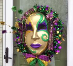turn my chandelier into mardi gras - Google Search