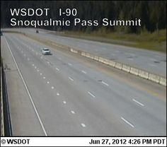WSDOT - Snoqualmie Pass Road and Weather Conditions just check it out in Dec, Jan, yes drove thru it in the middle of the night.. in blizzard conditions... do not miss it...