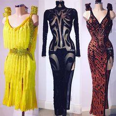 Latin Dresses by VESA worn by 3 talented ladies at the World Championships Final in Kremlin ⭐️⭐️⭐️ @dashachesnokova333 @polina_teleshova @ole4kaurumova
