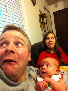This Dad Taking Selfies With His Newborn Is The Cutest Thing You'll See Today