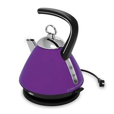 Small Kitchen Appliances: Chantal EL37-01 PU Memory Collection Ekettle Electric Water Kettle, Purple *** Details can be found by clicking on the image.