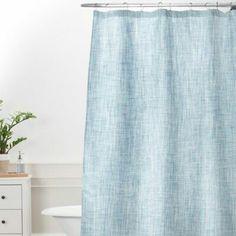 Madison Park Lavine 72 Inch Shower Curtain In Blue