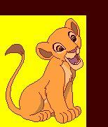 Le Roi lion en gif animé