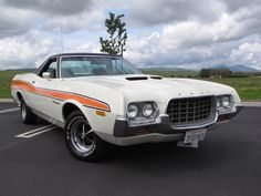 1972 Ford Ranchero GT ❣ www.pinterest.com/WhoLoves/Car ❣ #cars #vintagecar