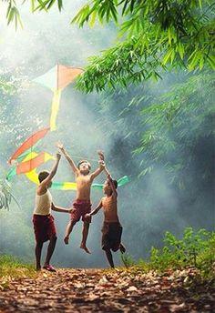 Fly a kite !