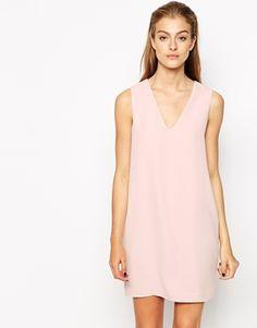 Mango Crepe Sleeveless Dress