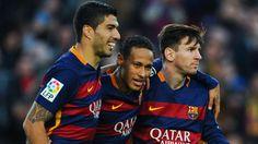 neymar, suarez, messi 11282015: Goal dà uno sguardo ai giocatori in possesso della miglior media realizzativa nei migliori cinque campionati europei. Sono stati considerati coloro che hanno segnato almeno 3 goal (mettendoci meno di 100 minuti a goal).