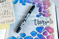 Why I Illustrated My Faith - Jess Robyn shares about treasuring Jesus over the things of life