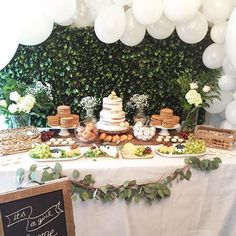 Another glimpse, our French-inspired ✨baby shower dessert table . . . . . . . . #eventplanning #french #greenery #babybump #babyshower #desserttable #yummy #eeeeeats #cake #macaron #macarons #balloons #boho #rustic #glam #girlstrip #decor #style #partystylist #design #flowers #floral #epic #magical #glam #luxurylifestyle #luxurystyle #instahappy #instamoment #instamoments