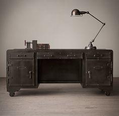 Iron Vault Desk, by Restoration Hardware » Design You Trust ...