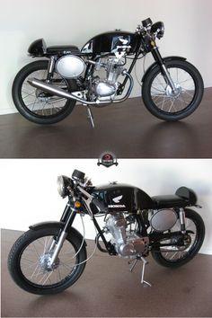 Sammy the Honda CB100 #caferacer #motorcycles #motos   caferacerpasion.com