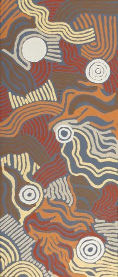 Ngapa Jukurrpa (Water Dreaming)  - Mikanji by Julie Napaljarri Dempsey