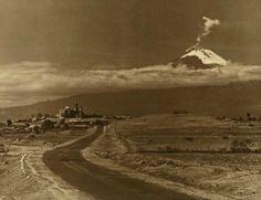 Hugo Brehme - Popocatépetl, Acatepec, 1905-25
