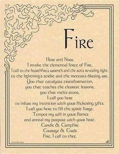 5 Elements Invocation + Pentagram Parchment Set!   pagan wicca witch