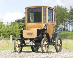 A 1905 Woods Electric car sold at auction for $95,000. It had been retrofitted with lightweight batteries and a fast charging system, and shows how far electric vehicles have come in just over 100 years.