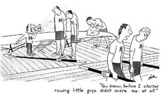 Story of my rowers' lives. :) #coxswain