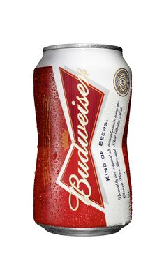Budweisers Bowtie Shape Can - The Dieline -