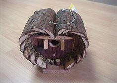 Wood birdhouse handicraft Garden Tree Pet Craft House