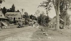 Peaks Island Me Shore Road Evergreen Postcard Print | eBay