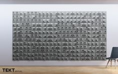 TEKT SQR 1  #concrete #tiles #design #wall #interior #texture