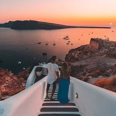 """Santorini ... """"Words cannot describe how beautiful this island is."""" Photo by @effortlyss #wonderful_santorini #santorini #great_greece #greece ."""