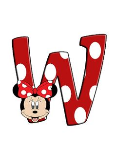 Mickey Mouse Letters, Mickey E Minnie Mouse, Minnie Png, Minnie Mouse Background, Alfabeto Disney, Character Letters, Alphabet And Numbers, Disney Family, Cute Baby Animals