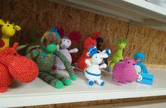 ANAMA knuffeltjes bij BOEL bazaar Den Bosch! Crochet Animals, Den, Dinosaur Stuffed Animal, Great Gifts, Toys, Cute, Crocheted Animals, Activity Toys, Clearance Toys