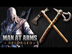 Tomahawk Challenge (Revolutionary War vs. Assassin's Creed 3) - MAN AT ARMS: REFORGED - YouTube