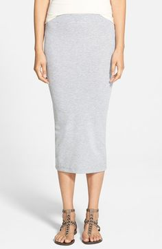 The+Hanger+Ribbed+Midi+Skirt+(Juniors)+available+at+#Nordstrom