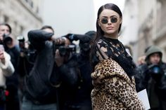 The Best Dressed at the Spring 2017 Couture Shows in Paris - Here's What Guests Wore to the Couture Shows in Paris - Photos
